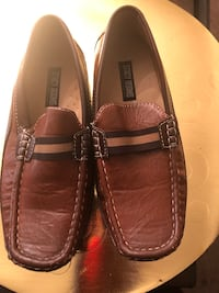 Brown leather loafers- 3M(Boys)Stacy Adams) White Plains, 20603