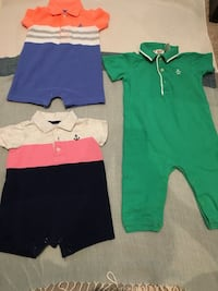 6-12 months play outfits