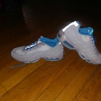 Suede grey and blue airmax 8.5 Baltimore, 21215