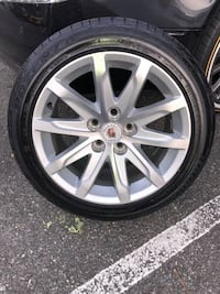 4 CADILLAC RIMS WITH TIRES ALEXANDRIA