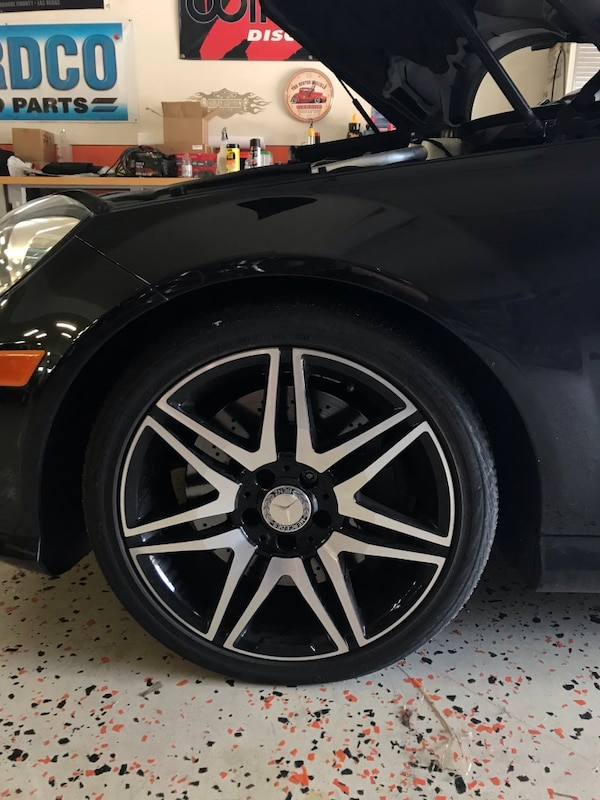 Tires North Vancouver >> Amg Mercedes 18inch Rims Tires