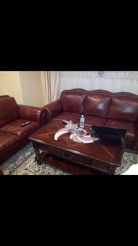 Loveseat sofa coffee table  Chicago
