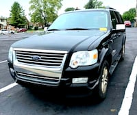 2007 Ford Explorer●BLACK●3RD ROW●TOW●SUNROOF● Lincoln Park