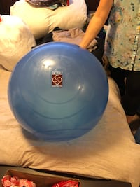 blue and white bowling ball Calgary, T2P 1M4