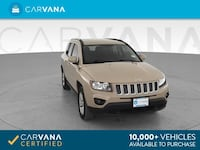 2017 Jeep Compass suv Latitude Sport Utility 4D Brown Charlotte