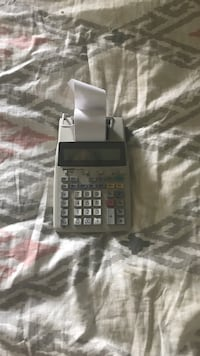 Black and gray texas instruments graphing calculator Chicago, 60610