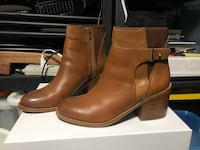 Brown ankle boots size 9 Surrey, V3W 1Y6