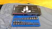Master Hex Socket Set  32-Piece Universal SAE and Metric Kit  Allen Socket Bit 5/64-inch to 3/4-inch 2mm to 19mm Buena Park
