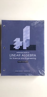 Introduction to Linear Algebra for Science and Engineering Toronto, M3C 4C4