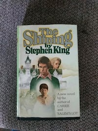 1st Edition of the shining  Baltimore, 21224