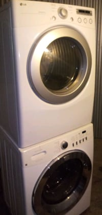 Stackable front loadersl washer and dryer