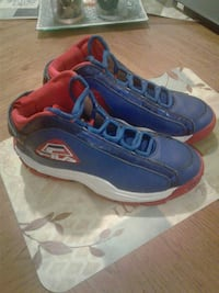 Grant hill blue-and-red Fila basketball shoes