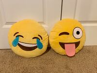 Two Emoji Pillows/Stuffed Animals Woodbridge, 22191