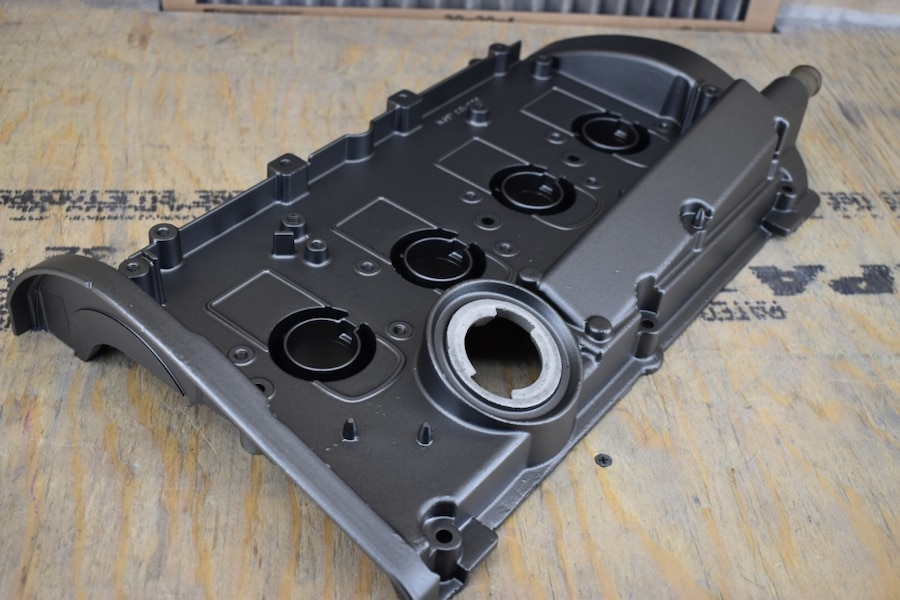 Photo Audi A4 1.8t valve cover powder coated