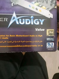Creative sound blaster audigy value 7.1 Mehtap, 06620