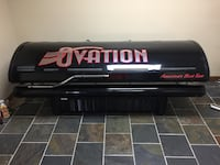 Ovation Tanning bed. 220V works perfect. Also have extra bulbs