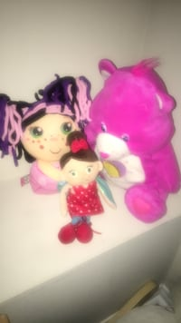 pink and white Minnie Mouse plush toy Whitby, L1R 3E5