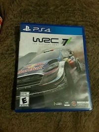 WRC 7 ps4 game New Port Richey, 34652