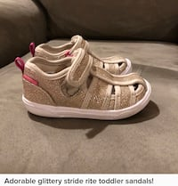 Stride rite toddler size 7 shoes. Like new.  Hoover, 35242