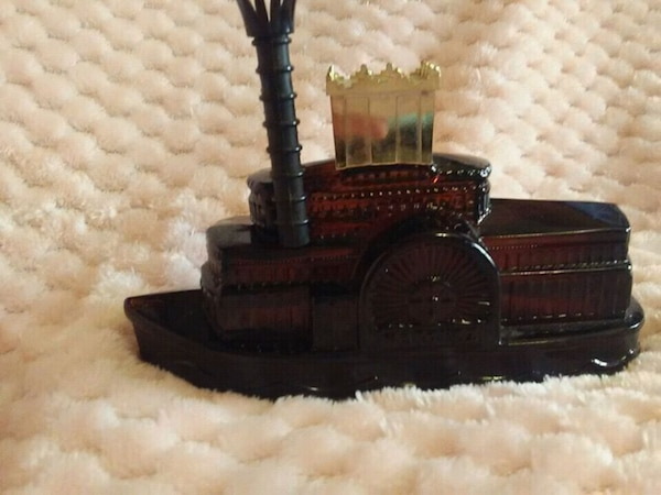 black and brown wooden house miniature