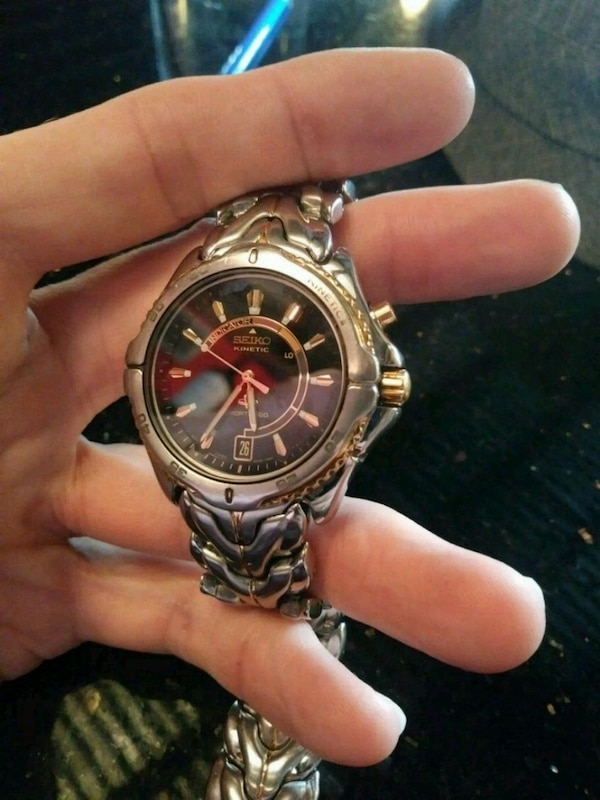 529d39084f52 Used Seiko kinetic sports100 watch for sale in Tampa - letgo