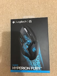LOGITECH G402 HYPERION FURY GAMING MOUSE 8441 km