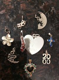 Assorted Sterling Silver pendants $15 Each Elk Grove, 95624
