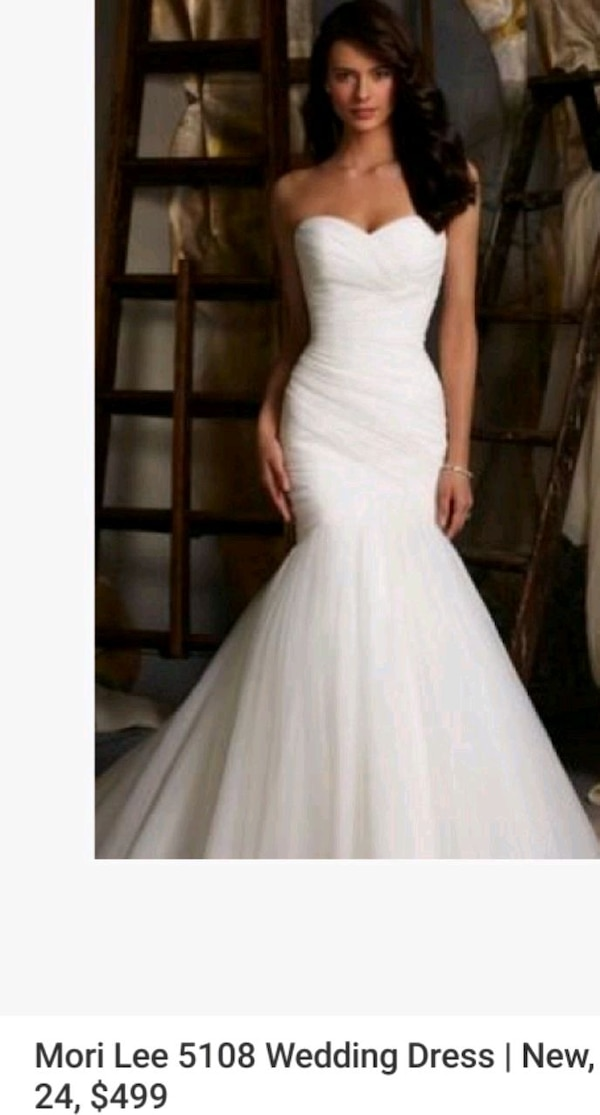 Used Wedding Dress For Sale In Los Angeles Letgo