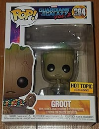 Groot with Candy Hot topic funko pop figure Calgary