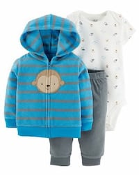 New 3 piece fleece baby outfit Vancouver, V5V