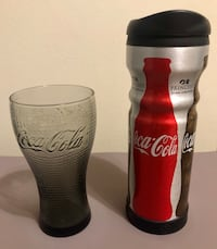 Coca Cola Glass & Travel Mug London, N6E 1G2