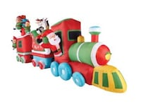 16 Foot Christmas Inflatable Train Newmarket, L3Y 8G9