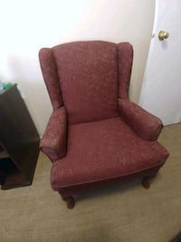Vintage Red Chair 50 OBO Calgary, T2W 3L6