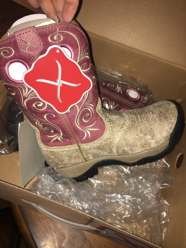 00a9bbb5895 Twisted X pink all around cowgirl boots round toe