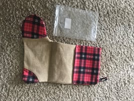 Christmas sock bag