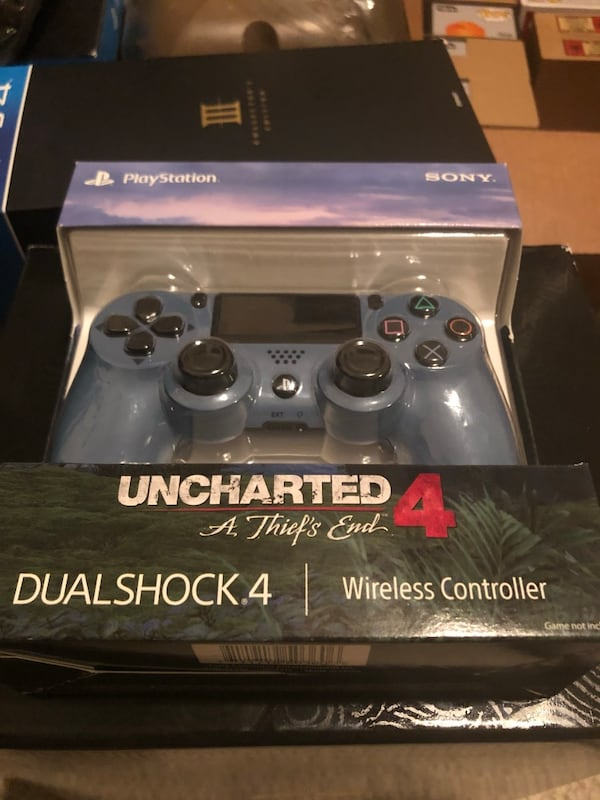 Used Uncharted 4 Wireless Controller For Ps4 For Sale In Mckinney