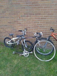 Bikes for sale just need a few things for each one