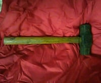 brown and black sledge hammer