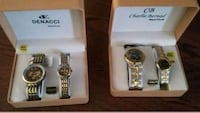 Watches his and hers I set 35 both sets 60 787 km