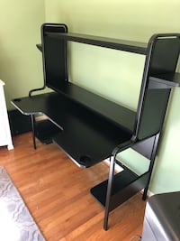 IKEA Fredde black computer desk fully assembled Arlington, 22206