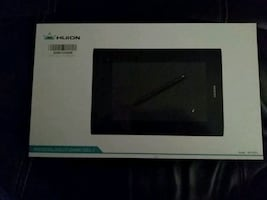 Huion pen tablet (for non touch screen computers)