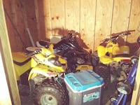 100 cc 2stroke extreme yellow atv Temple Hills