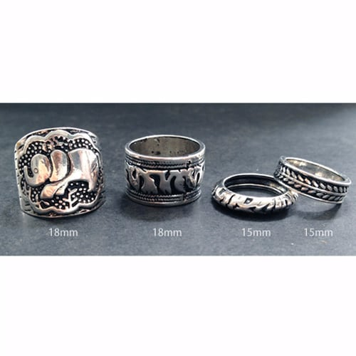 NEW Elephant Good Luck Rings