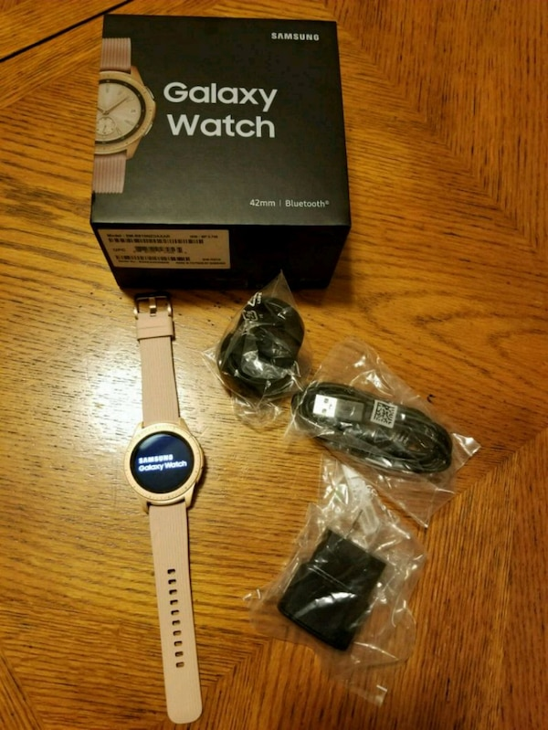 Used Samsung Galaxy Watch 42mm Rose Gold For Sale In Lilburn Letgo
