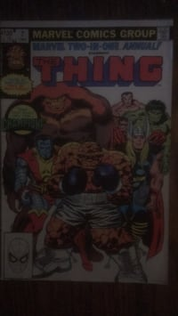 Marvel 2 in 1 Annual starring The Thing #7 1982 Baltimore, 21223