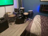 7 pc drum set Edmonton, T6B 0G8