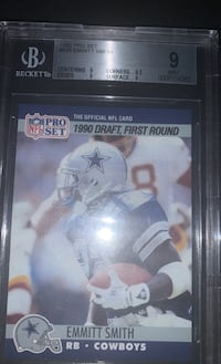 Emmit Smith Rookie Card Mint Condition Wetumpka, 36092