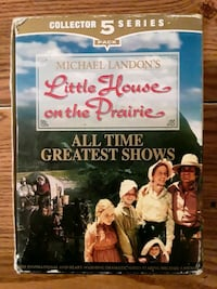 Collectors 5 Series Little House On The Prairie VHS