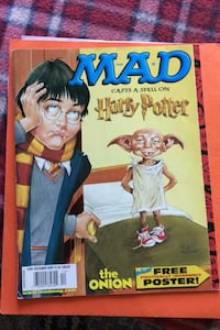 MAD Magazine Special Harry Potter #424 December 2002 Apple Valley, 55124