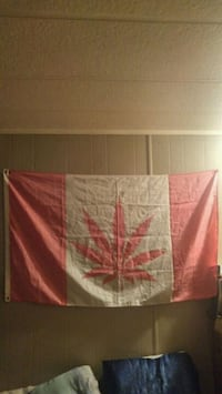 Pot leaf flag  Calgary, T2A 4V5